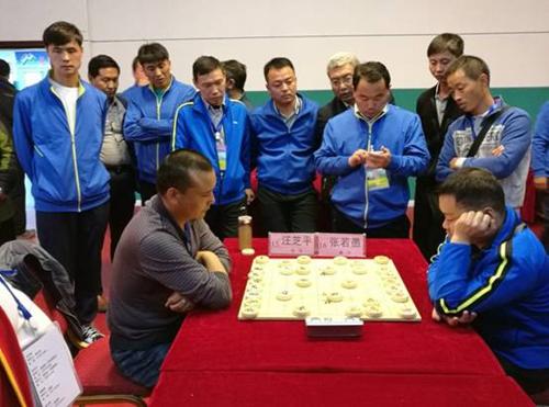 象棋比赛现场